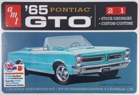 AMT 1965 Pontiac GTO Hardtop or Convertible, Stock or Custom