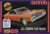AMT 1969 Ford Fairlane Cobra 428CJ Fastback