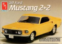 AMT 1969 Ford Mustang 2+2, 1/43 Scale