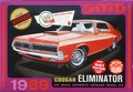 AMT 1969 Mercury Cougar Eliminator Boss 302, Orange