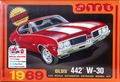 AMT 1969 Olds Cutlass 4-4-2 W-30, Stock or Drag