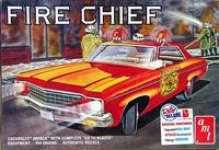 AMT 1970 Chevy Impala 454 Hardtop Fire Chief or Police Cruiser with Emergency Equipment
