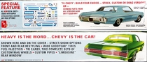 AMT 1970 Chevy Impala SS 454 Hardtop, Stock, Custom or drag