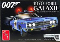 "AMT 1970 Ford Galaxie 4 Door Sedan, Stock, Police Car or 007 ""Diamonds are Forever"" Car."