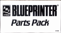 """AMT """"Blueprinter"""" Chevy 283, Pontiac 421, Chrysler 392 and Corvair Engines Parts Packs"""