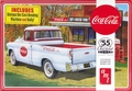 "AMT ""Coca-Cola"" 1955 Chevy Cameo Pickup with Coke Machine and Dolly"
