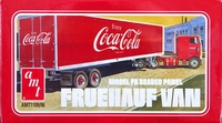 "AMT ""Coca-Cola"" Fruehauf FB Beaded Panel 40' Semi-Trailer Van"