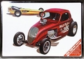"""AMT """"Double Dragster"""" Fiat Altered and Dragster, Special Issue in Collector Tin"""