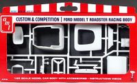 """AMT Ford """"T"""" Drag Racing Body – Custom & Competition Parts Pack"""