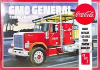 AMT GMC General Conventional with Sleeper and Coca-Cola Graphics