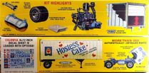 "AMT ""Hostess"" Ford C-900 Tilt Cab Tractor with Trailmobile 27 Ft. Trailer"
