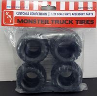 AMT Monster Truck Tires Parts Pack