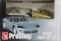 AMT Pre-Painted Silver Dodge Viper RT-10
