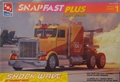 """AMT """"Shock Wave"""" Jet Powered Semi Truck by Les Shockley, SnapFast Plus, 1/32 Scale"""