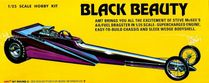 AMT Steve McGee's Black Beauty Rear Engined AA/Fuel Wedge Dragster