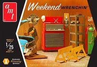 "AMT ""Weekend Wrenchin'"" Garage Accessory Set #1"