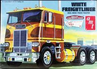 AMT White Freightliner Dual-Drive Cabover Tractor
