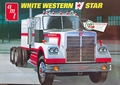 AMT White Western Star with Mercury Sleeper