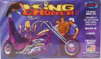 "Atlantis (Monogram) Tom Daniel ""King Chopper II"" Harley Davidson Three-Wheel Show Cycle"