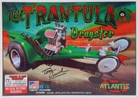 "Atlantis (Monogram) Tom Daniel ""Li'l T'rantula Dragster"" Caricature, Snap Kit"