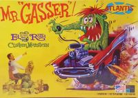"Atlantis (Revell) Ed ""Big Daddy"" Roth ""Mr. Gasser"" '57 Chevy Caricature"