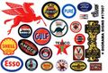Gofer Racing Plastic Diorama Signs Sheet - These Are Not Decals