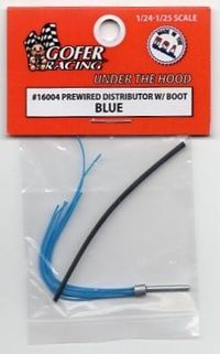 Gofer Racing Pre-wired Distributor with Boot – Blue