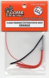Gofer Racing Pre-wired Distributor with Boot - Orange