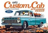 Moebius 1965 Ford F-100 Long Bed Custom Cab Styleside Pickup