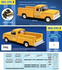 Moebius 1965 Ford F-100 Service Utility Truck