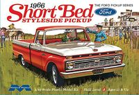 Moebius 1966 Ford F-100 Short Bed Custom Cab Styleside Pickup