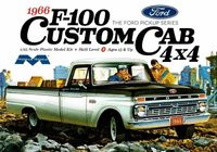 Moebius 1966 Ford F-100 Custom Cab Longbed 4x4 Pickup with 352 V-8
