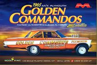 "Moebius Al Eckstrand ""Golden Commandos"" 1965 Plymouth Satellite Hardtop Altered Wheelbase A/FX"