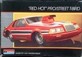 """Monogram 1984 Thunderbird Pro Street """"Red Hot"""" with Gold Plated Chrome"""