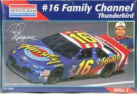 """Monogram Ted Musgrave #16 """"Family Channel"""" 1995 Ford Thunderbird"""