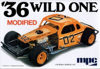 """MPC 1936 Chevy Coupe """"Wild One"""" Modified"""
