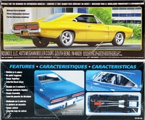 """MPC 1969 Dodge Charger """"City Slicker"""" (snap)"""