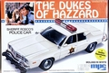 "MPC ""Dukes of Hazzard"" Roscoe's 1978 Dodge 4 Door Police Car"
