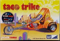 "MPC ""Taco Trike"" Chopper Motorcycle from the Trick Trike Series"