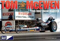 "MPC Tom ""Mongoose"" McEwen 1969 Front Engine Top Fuel Dragster"