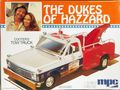 """MPC """"The Dukes of Hazzard"""" 1972 Chevy Wrecker """"Cooter's Tow Truck"""""""