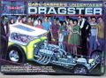 "Polar Lights Carl Casper ""Undertaker"" Custom Dragster with Display Stand and Figures"