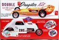 "AMT ""Double Dragster"" Fiat Altered and Dragster"