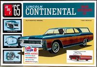 AMT 1965 Lincoln Continental Convertible, Stock, Custom or Custom Station Wagon