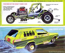 AMT 1976 Chevy Vega Station Wagon or Panel Funny Car