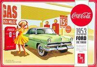 AMT 1953 Ford Victoria Hardtop with Early '50s Coke Machine