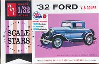 AMT 1932 Ford 3 Window Coupe, 1/32 Scale