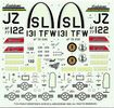Revell/Monogram McDonnell Douglas F-15A Eagle, 1/48 Scale Decals, 5 x 5 inches