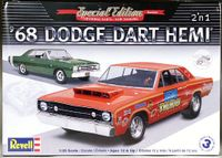 Revell 1968 Dodge Dart, Stock or Hemi Dart Super Stock
