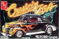 """AMT 1940 Ford Coupe """"Cruisin' USA"""" Series, Mostly Stock or Custom"""